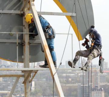 Высотные работы в санкт петербурге